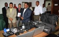 Sao Tome ve Principe Demokratik Cumhuriyeti'nin Medya Alt Yapısı Güçlendirildi