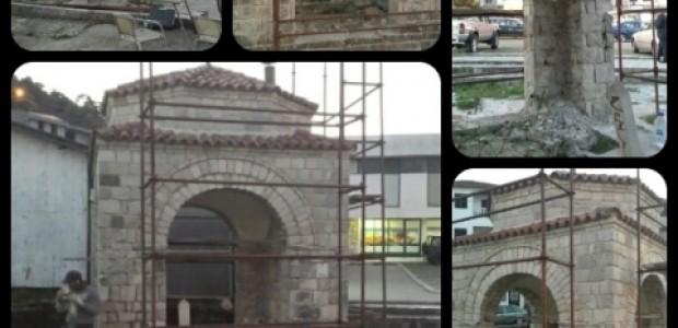 Karadağ'da Tarihi Pulti Türbesi'nin Bakım ve Koruma Çalışmalarına Başlandı  - 3