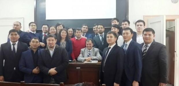 Kazakistan Kamu Yönetimi Akademisi Savcılık Enstitüsü Öğrencilerine Eğitim  - 3