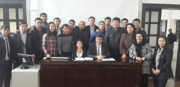 Kazakistan Kamu Yönetimi Akademisi Savcılık Enstitüsü Öğrencilerine Eğitim  - 1