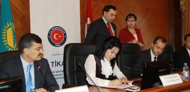 TİKA'dan Kazakistan Başsavcılık Enstitüsü'ne Servis Aracı Desteği   - 3