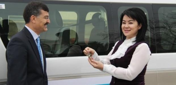 TİKA'dan Kazakistan Başsavcılık Enstitüsü'ne Servis Aracı Desteği   - 2