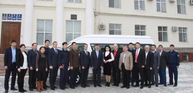 TİKA'dan Kazakistan Başsavcılık Enstitüsü'ne Servis Aracı Desteği   - 1
