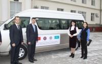 TİKA'dan Kazakistan Başsavcılık Enstitüsü'ne Servis Aracı Desteği