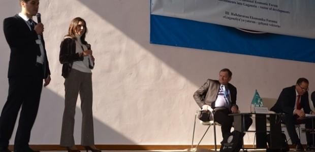 Moldova'da Gökoğuz Yeri III. Ekonomik Forumu'na Destek  - 3