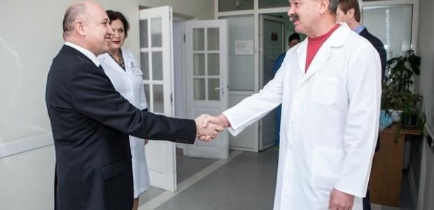 TİKA'dan Kiev Oleksandrivska Klinik Hastanesi'ne Ekipman Desteği  - 2
