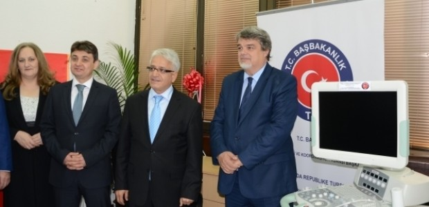 Karadağ'ın Bar Şehri Devlet Hastanesine Teknik Ekipman Desteği Sağlandı  - 3