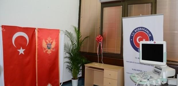 Karadağ'ın Bar Şehri Devlet Hastanesine Teknik Ekipman Desteği Sağlandı  - 2