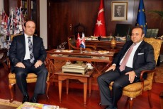 TİKA President Dr. Serdar Çam Visited Mr. Egemen Bağış, Minister Of European Union