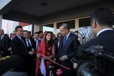 Opening Ceremony Of Macedonia Vrapçis Çede Filipovski Elementary School Made By TİKA