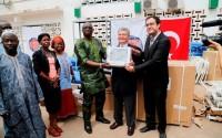 TİKA'dan Gambiya'ya Ebola Salgını ile Mücadele Desteği