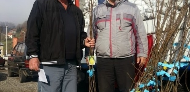 Karadağ'da Bistritsalı Çiftçilere Meyve Fidanı Dağıtımı Gerçekleştirildi  - 1