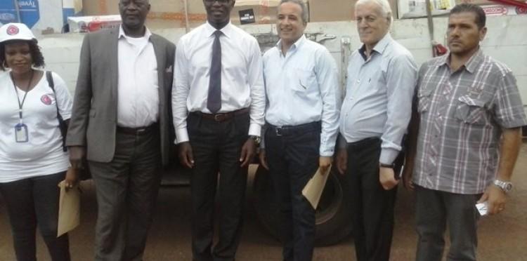 TİKA Ebola Salgını ile Mücadelede Sierra Leone ile Birlikte