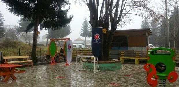 Karadağ'ın Plav Şehrinde Engelliler Oyun Parkı Hizmete Açıldı   - 5