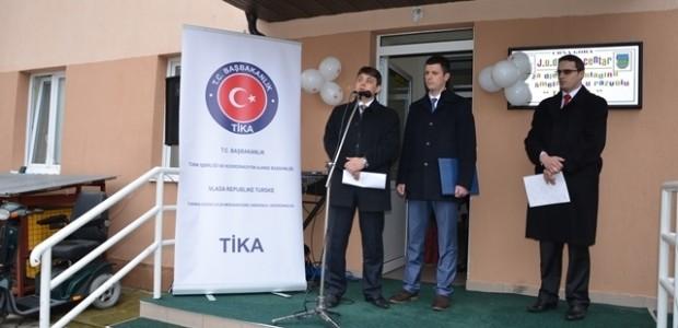 Karadağ'ın Plav Şehrinde Engelliler Oyun Parkı Hizmete Açıldı   - 1