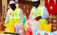 Senegal'e Ebola Salgını ile Mücadelede Tıbbi Malzeme Desteği
