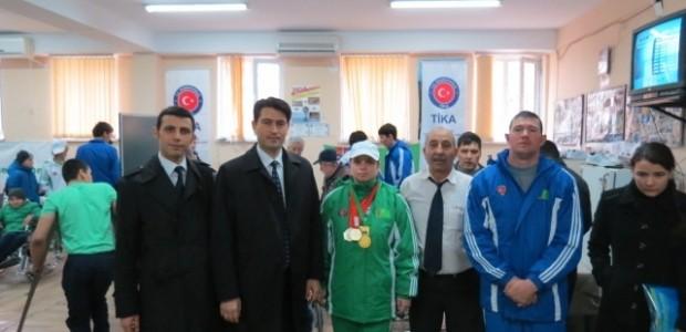 TİKA'dan Türkmenistan Engelli Sporcularına Anlamlı Destek  - 6