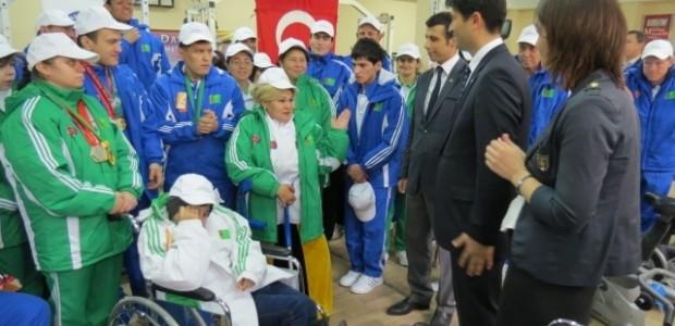 TİKA'dan Türkmenistan Engelli Sporcularına Anlamlı Destek  - 2