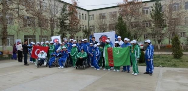 TİKA'dan Türkmenistan Engelli Sporcularına Anlamlı Destek  - 1