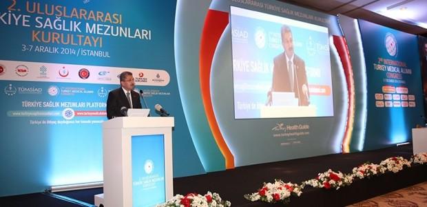 Uluslararası Türkiye Sağlık Mezunları Kurultayı'na Destek   - 3