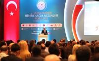 Uluslararası Türkiye Sağlık Mezunları Kurultayı'na Destek