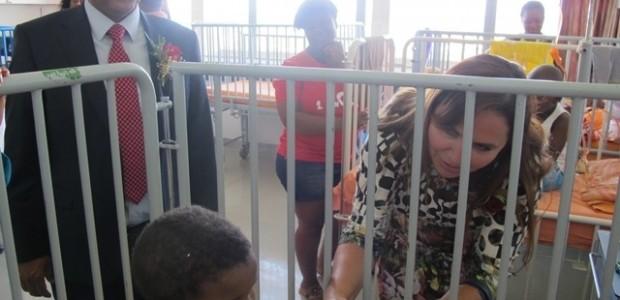 Namibya'da Merkez Hastanesi Pediatrik Onkoloji Bölümü'ne Tıbbi Ekipman Desteği   - 2
