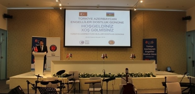 TİKA ve Beyazay Derneği İşbirliğinde Türkiye ve Azerbaycan Engellileri Bakü'de Bir Araya Geldi  - 2