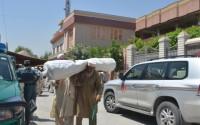 دعم 200 عائلة أفغانية بخيم الهجرة