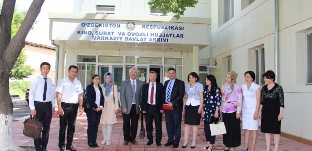تعاون مشترك بين تركيا وأوزبكستان في مجال الأرشفة - 1