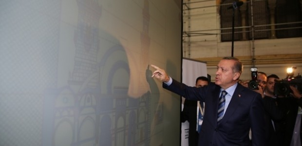 أردوغان يزور جامع كتشاوة في الجزائر - 9