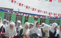 """دعم تعديل مدرسة """"نازو بيبي"""" للبنات في قرية """"باجرامي شفكي"""" بكابل"""