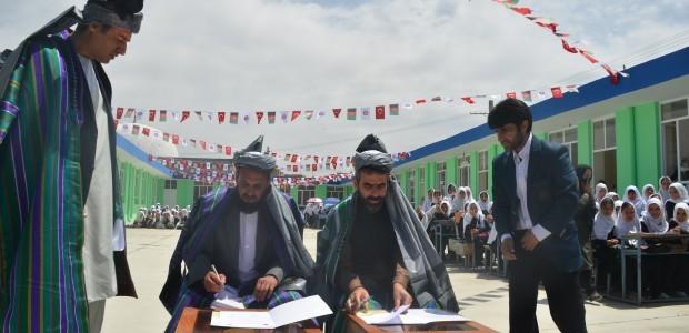 """دعم تعديل مدرسة """"نازو بيبي"""" للبنات في قرية """"باجرامي شفكي"""" بكابل - 2"""