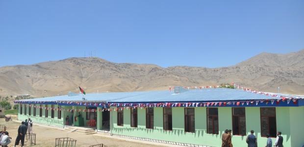 ترميم وإفتتاح مدرسة قرية تشافيك أرغاندي في كابل - 1
