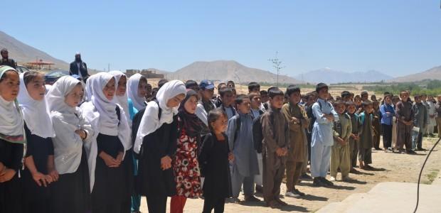 ترميم وإفتتاح مدرسة قرية تشافيك أرغاندي في كابل - 2
