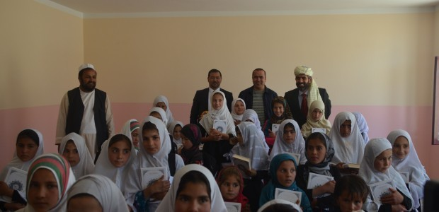 ترميم وإفتتاح مدرسة قرية تشافيك أرغاندي في كابل - 4