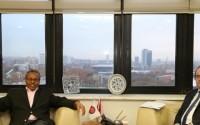 """زيارة وزير خارجية جمهورية أرض الصومال السيد """"محمد باهي يونس""""، لرئيس الوكالة التركية للتعاون والتنسيق (تيكا)"""