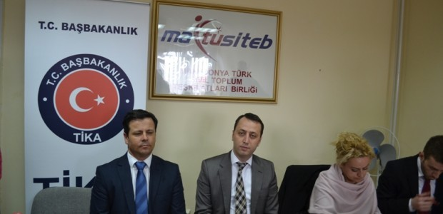 تقديم منح للطلاب في مقدونيا بالتعاون بين تيكا واتحاد منظمة المجتمع المدني التركي-المقدوني - 1