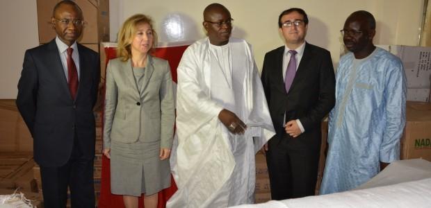 دعم وزارة الرياضة بالتجهيزات اللازمة في السنغال - 3