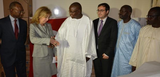 دعم وزارة الرياضة بالتجهيزات اللازمة في السنغال - 1
