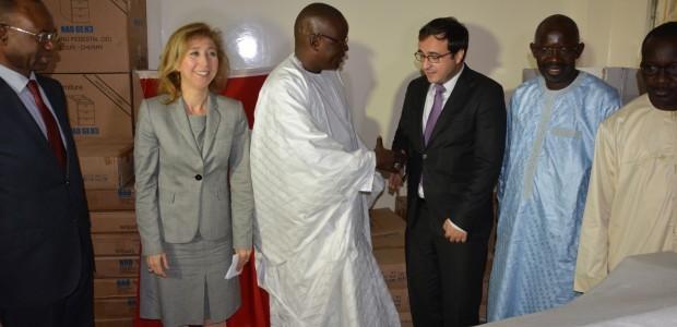 دعم وزارة الرياضة بالتجهيزات اللازمة في السنغال - 2