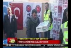 TİKA'dan Tuzhurmatu'daki Türkmen ailelere Yardım