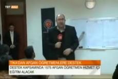 TİKA'dan Afganistan'daki Öğretmenlere Hizmet İçi Eğitim