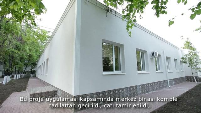 TİKA, Moldova'da Anne Çocuk Sağlığı Enstitüsü'ne Bağlı Rehabilitasyon Merkezi Yeniledi