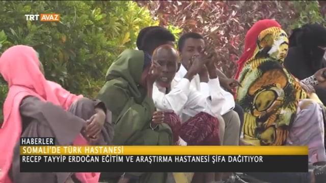 Somali'de Recep Tayyip Erdoğan Eğitim ve Araştırma Hastanesi Şifa Dağıtıyor