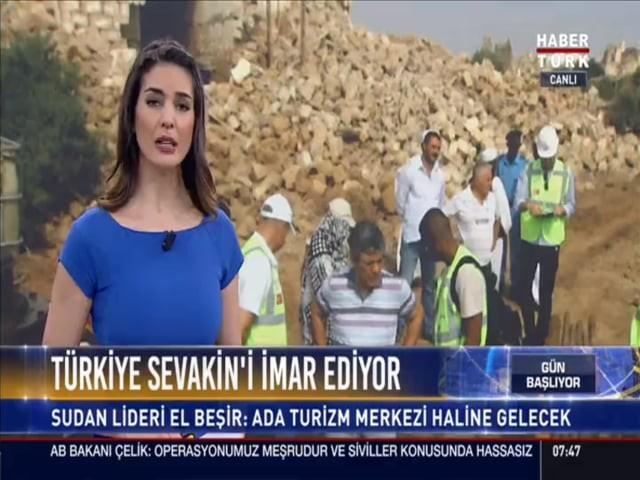 Türkiye Sevakin Adası'nı Yeniden İmar Ediyor