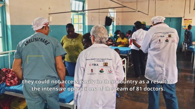 Türkiye Macaristan İşbirliğinde Kenya Sağlık Haftası